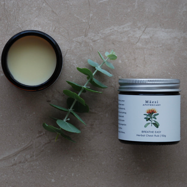 Herbal Balm | BREATHE EASY-Herbal Balm-Mäesi Apothecary