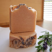 Botanical Soap | LAVENDER + PINK CLAY-Botanical Soap-Mäesi Apothecary
