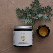 Face + Body Cream | SENSITIVE WITH CHAMOMILE + BLUEBERRY-Herbal Skincare-Mäesi Apothecary