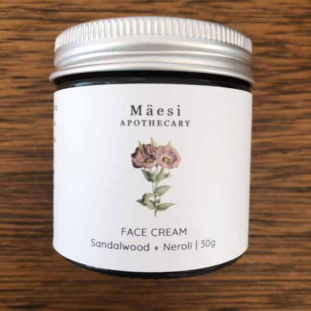 Face Cream | with Sandalwood + Neroli-Herbal Skincare-Mäesi Apothecary