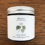 Face Cream | with Shea + Helichrysum-Herbal Skincare-Mäesi Apothecary