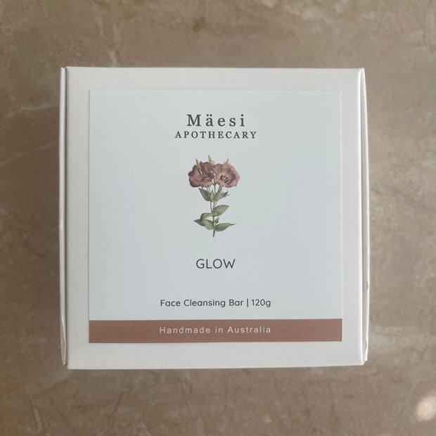 Face Cleansing Bar | GLOW-Herbal Skincare-Mäesi Apothecary