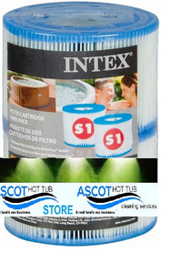 Intex S1 Filter Cartridge  Hot Tub Filter UK Standard Today's Special Offer!!