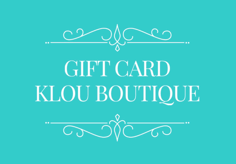 Gift card  Rise.ai  Klou Boutique