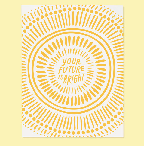 Bright Future Card - The Good twin  The Good Twin Card Klou Boutique