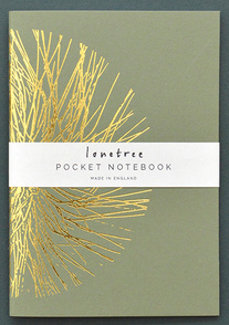 Green Notebook - Lonetree  lone tree Stationary Klou Boutique