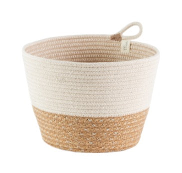 MIA Mu017dLANGE - JUTE PLANTER SMALL -NATURAL  MIA MELANGE GIFTWARE Klou Boutique