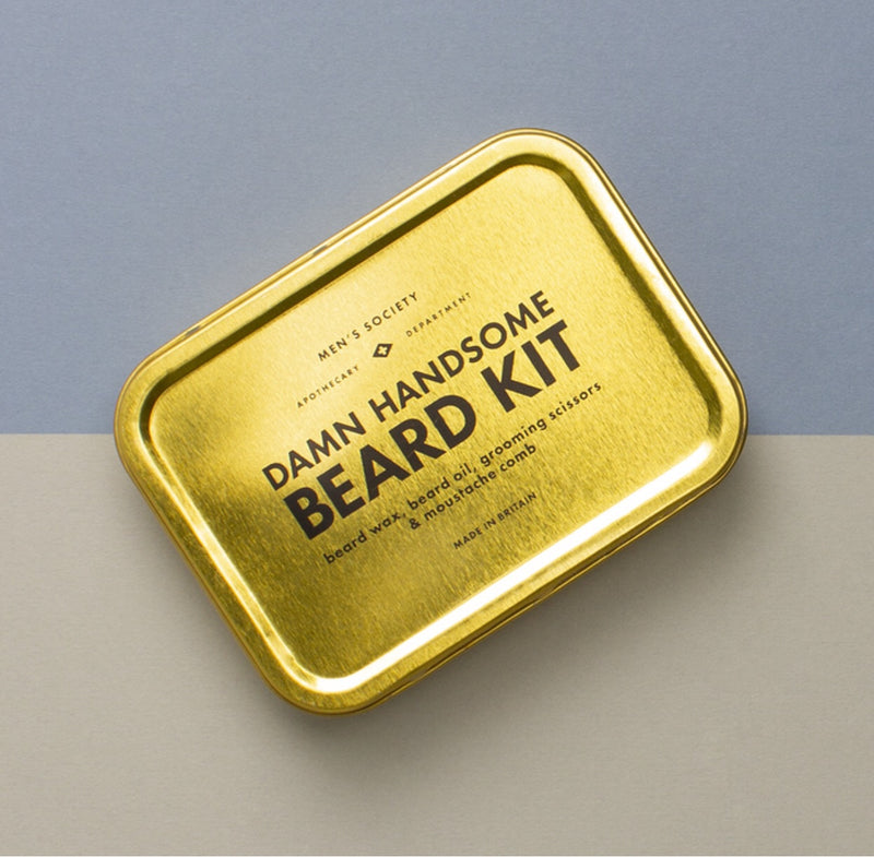 LITTLE GLOBAL DAMN HANDSOME BEARD KIT  LITTLE GLOBAL  Klou Boutique