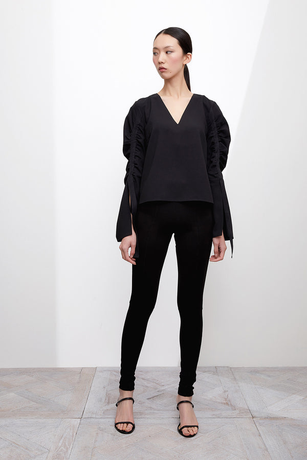 GRACE WILLOW THE LABEL Ivonne Top Black  GRACE WILLOW THE LABEL  Klou Boutique