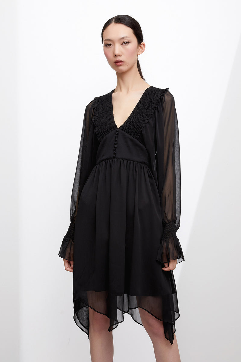 GRACE WILLOW THE LABEL Carrie Dress Black  GRACE WILLOW THE LABEL  Klou Boutique