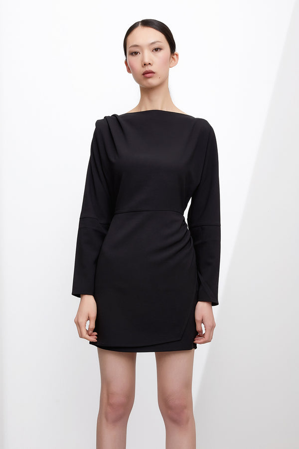 GRACE WILLOW THE LABEL Milo Dress Black  GRACE WILLOW THE LABEL  Klou Boutique