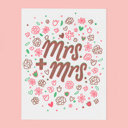 MRS & MRS CARD - THE GOOD TWIN  Klou Boutique  Klou Boutique