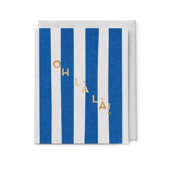Oh La La Card - Darling Clementine  Darling Clementine Card Klou Boutique
