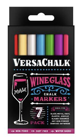 Wine Glass Chalk markers - Fine tip - Versachalk