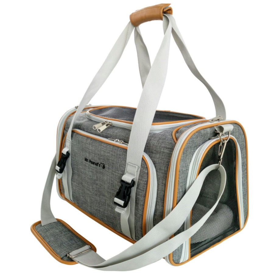 Platinum Line Double Expandable Airline Approved Tote - Mr. Peanut's Airline Approved Pet Carriers