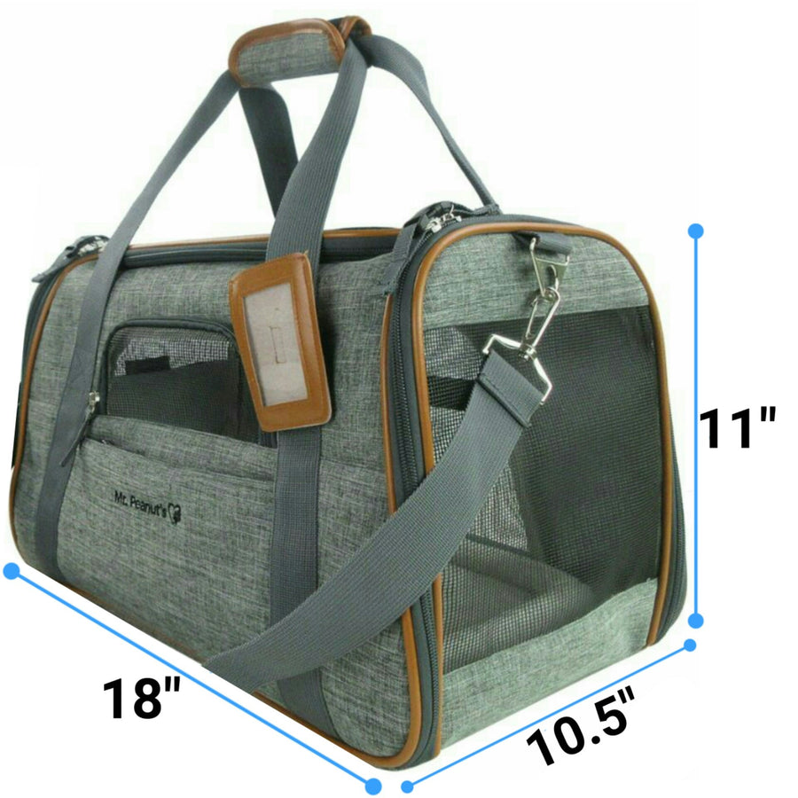 Platinum Line Airline Approved Tote - Mr. Peanut's Airline Approved Pet Carriers