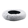 "Mr. Peanut's 28"" OrthoPlush® Pet Bed - Snowflake White Two Tone"