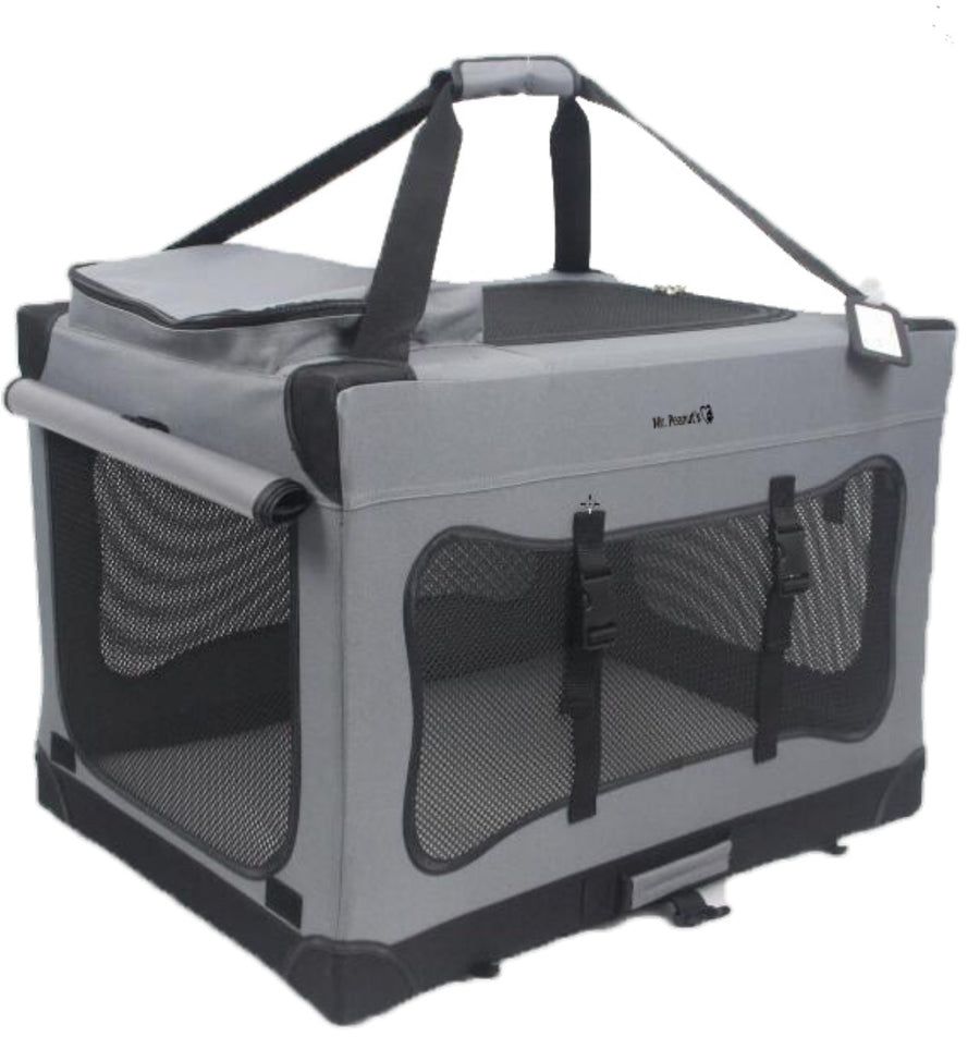 Portable Pet Crate Carrier - Mr. Peanut's Airline Approved Pet Carriers