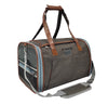 Gold Series Mini Expandable Airline Approved Pet Carrier - Low Profile, Soft Sided Premium Tote - Charcoal Ash