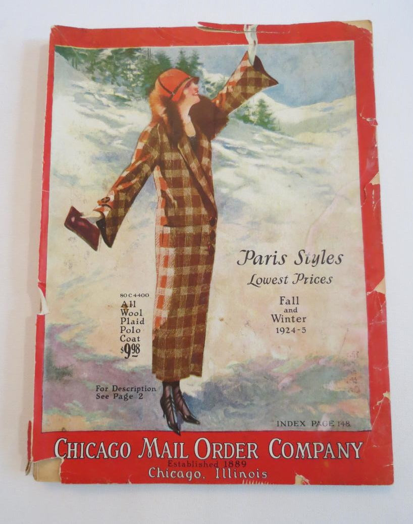 Time Capsule For 1924 - The Chicago Mail Order Company Catalog
