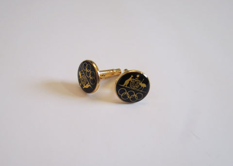cuff links melbourne olympic games 1956