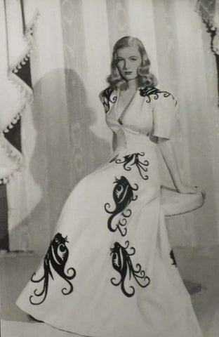 veronica lake dressing gown