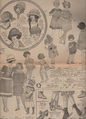 childrens clothing 1920s