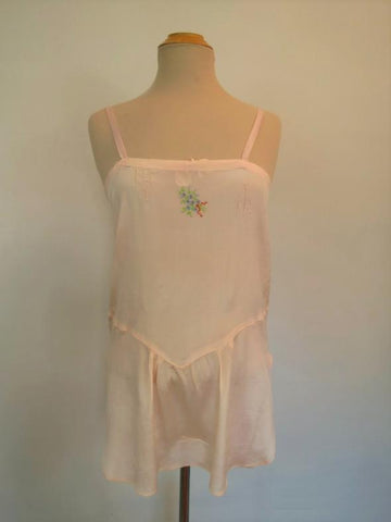 1920s vintage silk camiknickers stepins combinations teddy lingerie