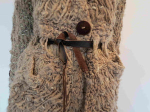 chunky homespun wool jacket by angelagustino uruguay