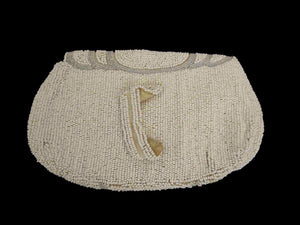 vintage beaded dance purse evening bag 1930s with finger strap