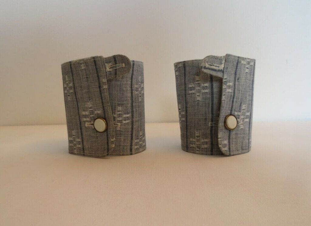 Antique Detachable Cuffs - Your Choice of Three Pairs