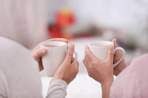 Here's How To Be Happy - Share Cups Of Tea With Loved Ones