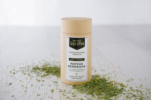 Perfect South Matcha GenMaicha (100g Canister) - Allegra & Grace