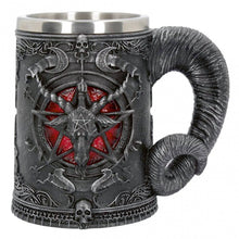 Baphomet's Throne Pentagram Chalice and Drinking Mug - Heavy Metal Jewelry Clothing
