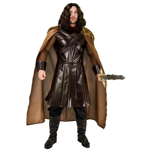 Metal Mighty Warrior Medieval Costume - Heavy Metal Jewelry Clothing