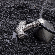 Epic Thor's Hammer Mjolnir Necklace Pendant - Heavy Metal Jewelry Clothing