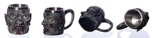 Metal Punk Gothic Zombie Drinking Mug Chalice - Heavy Metal Jewelry Clothing