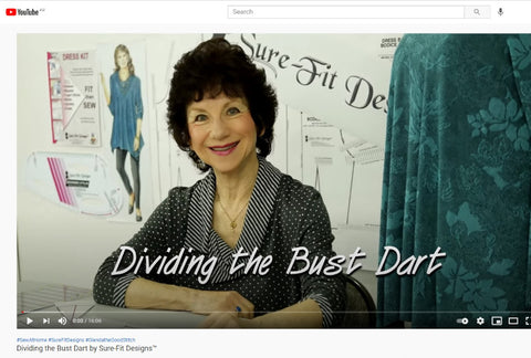 Dividing the Bust Dart FREE Video