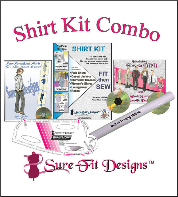 Sure-Fit Designs Shirt Kit Combo
