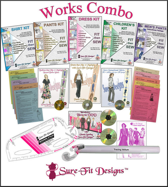 Sure-Fit Designs Works Combo