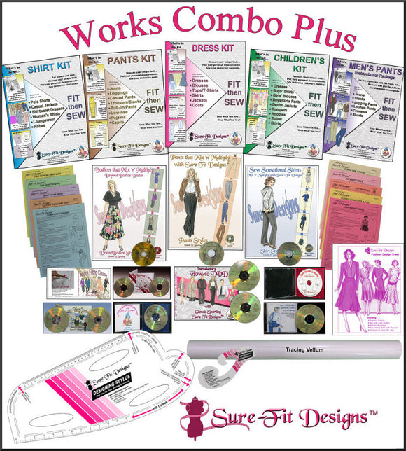 Sure-Fit Designs Works Combo Plus