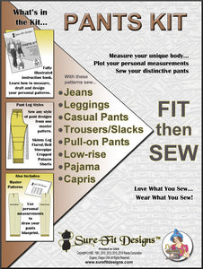 Sure-Fit Designs Pants Kit
