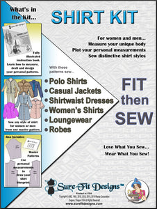 Sure-Fit Designs Shirt Kit