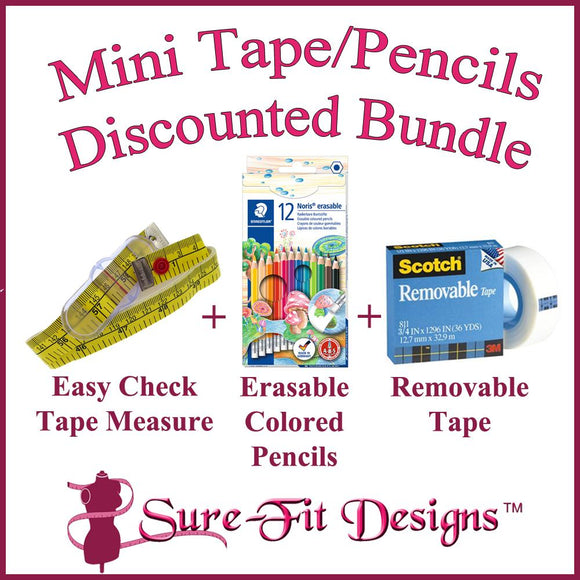 Mini Tape/Pencils Discounted Bundle