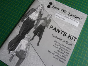 Fitting Pattern Pants Design Instruction Book
