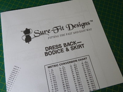 Fitting Pattern Dress and Skirt Design