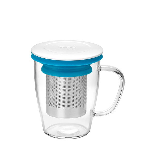Ming Infuser Glass Mug