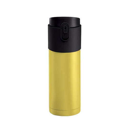 Pao Thermo Mug Lemon Yellow with Black Lid