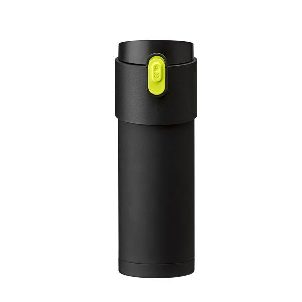 Pao Thermo Mug Black/Green Button