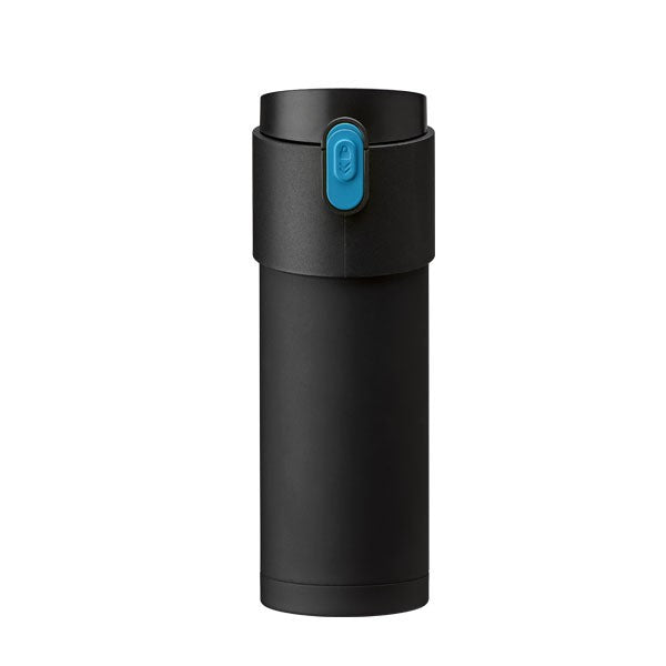 Pao Thermo Mug Black/Blue Button